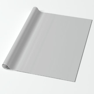 Light Gray Matte Wrapping Paper