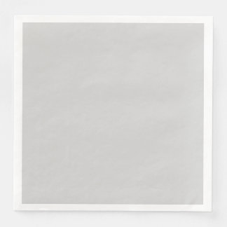 Light Gray Paper Dinner Napkin