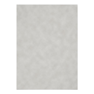 Light Gray Parchment Texture Poster