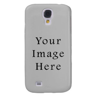 Light Gray Silver Grey Color Trend Blank Template Samsung Galaxy S4 Case