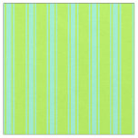 [ Thumbnail: Light Green and Aquamarine Pattern of Stripes Fabric ]