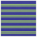 [ Thumbnail: Light Green and Blue Lined/Striped Pattern Fabric ]