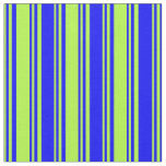 [ Thumbnail: Light Green and Blue Pattern Fabric ]