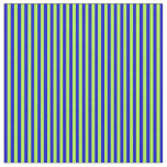 [ Thumbnail: Light Green and Blue Striped/Lined Pattern Fabric ]