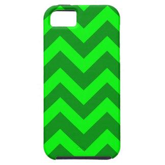 Light Green And Dark Green Chevrons iPhone SE/5/5s Case