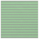 [ Thumbnail: Light Green and Gray Colored Lines Fabric ]