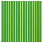 [ Thumbnail: Light Green and Green Lines Fabric ]
