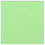[ Thumbnail: Light Green and Green Stripes Pattern Fabric ]