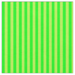 [ Thumbnail: Light Green and Lime Striped/Lined Pattern Fabric ]