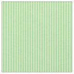 [ Thumbnail: Light Green and Pale Goldenrod Colored Pattern Fabric ]