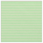 [ Thumbnail: Light Green and Tan Colored Pattern of Stripes Fabric ]