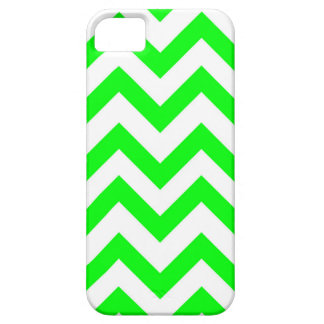 Light Green And White Chevrons iPhone SE/5/5s Case