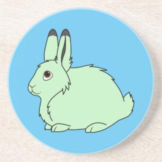 Light Green Arctic Hare Coaster