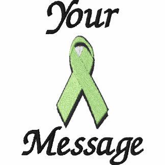 Light green awareness ribbon - Customize