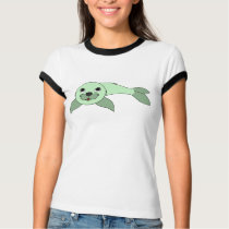 Light Green Baby Seal T-Shirt