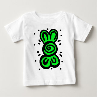 light green bow draw design baby T-Shirt