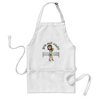 Light Green Boxer Adult Apron
