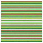 [ Thumbnail: Light Green, Brown, Green, Dark Green, and Beige Fabric ]
