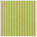 [ Thumbnail: Light Green & Brown Pattern Fabric ]