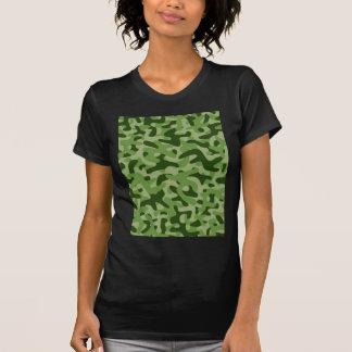 Light Green Camouflage Pattern T Shirts