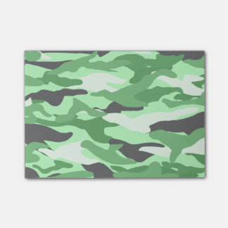 Light green camouflage post-it® notes