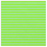 [ Thumbnail: Light Green & Chartreuse Lined Pattern Fabric ]