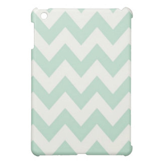Light Green Chevron iPad Mini Case