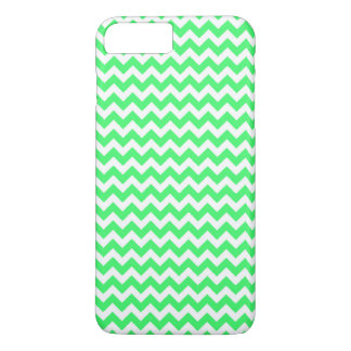 Light Green Chevron Pattern iPhone 7 Plus Case