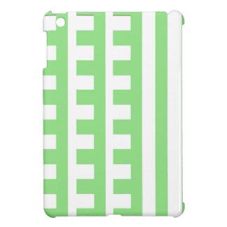Light Green Combs Tooth iPad Mini Covers
