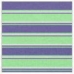 [ Thumbnail: Light Green, Dark Slate Blue, and Light Cyan Fabric ]