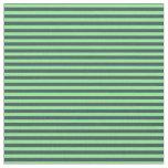 [ Thumbnail: Light Green & Dark Slate Gray Colored Pattern Fabric ]