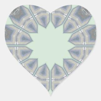 Light Green Diamond Tile Drummergirl77 Art.png Heart Sticker