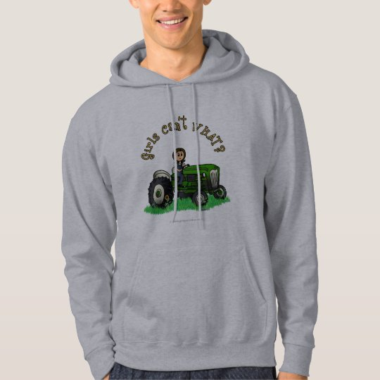 Light Green Farmer Girl Hoodie