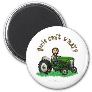 Light Green Farmer Magnet