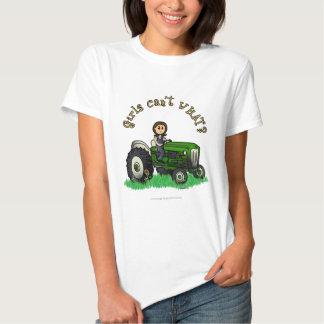 Light Green Farmer Tee Shirt