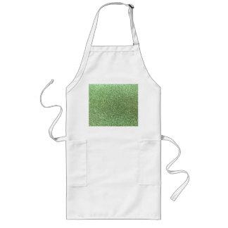 Light green glitter aprons