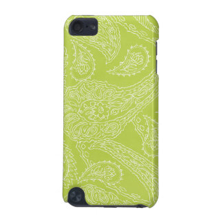 Light green henna vintage paisley girly floral iPod touch 5G case