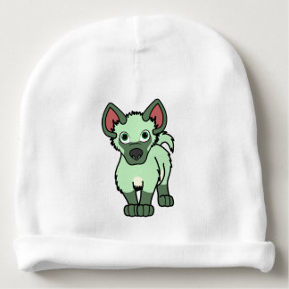 Light Green Hyena Cub Baby Beanie