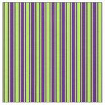 [ Thumbnail: Light Green & Indigo Colored Pattern Fabric ]