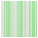 [ Thumbnail: Light Green & Light Cyan Striped/Lined Pattern Fabric ]