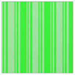 [ Thumbnail: Light Green & Lime Colored Striped Pattern Fabric ]
