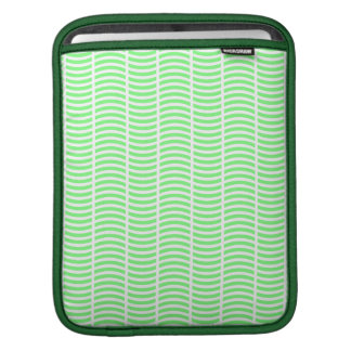 Light Green on White Sleeve For iPads