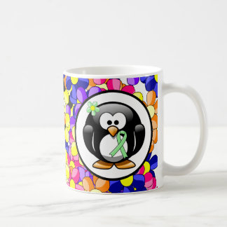 Light Green Ribbon Coffee Mug