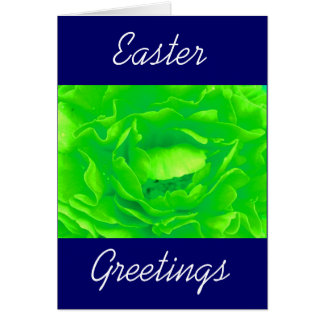 Light Green Rose - Customizable Card