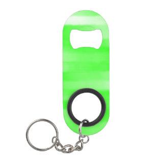Light Green Streak Mini Bottle Opener