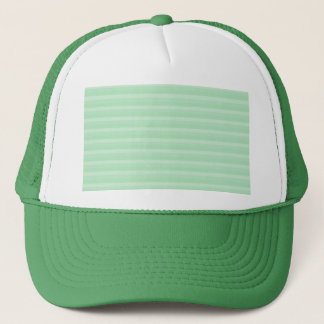 Light Green Stripe Pattern. Trucker Hat