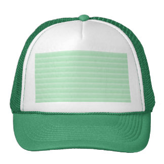 Light Green Stripe Pattern. Trucker Hat