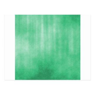 Light Green Striped Grunge Design Postcards