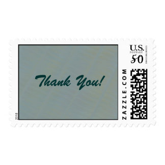 Light Green Subtle Abstract- Thank You Postage