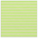 [ Thumbnail: Light Green & Tan Stripes/Lines Pattern Fabric ]